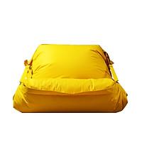 Ghế Lười Hạt Xốp Buckle - Up Sack Chất Liệu Dùng Trong Nhà Và Ngoài Trời Màu Vàng- The Beanbag House