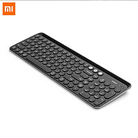 Xiaomi Ecological Chain MIIIW Bluetooth Dual Mode Keyboard Bluetooth 4.0 104 Keys 2.4GHz Multi System Compatible Wireless Portable Keyboard For Home Office Use