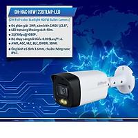 Camera thân to HDCVI 2MP FullColor DAHUA DH-HAC-HFW1239TLMP-LED nhìn đêm có màu hàng chính hãng DSS Việt Nam