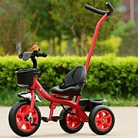 Xe đạp ba bánh kiêm cán đẩy cho bé 1 - 6 tuổi