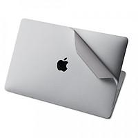 Combo skin bạc dán bảo vệ chống xuớc cho Macbook thế hệ mới - Hàng chính hãng