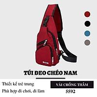 Túi đeo chéo nam nữ thời trang phong cách Hàn Quốc