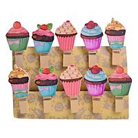 Túi kẹp gỗ Cake 10 cái - KE21