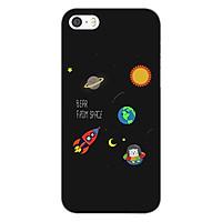 Ốp lưng dẻo cho điện thoại Apple iPhone 5 / 5s _0510 SPACE06 - Hàng Chính Hãng