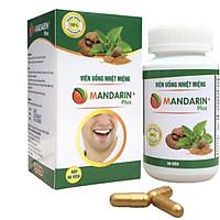 Viên uống nhiệt miệng Mandarin Plus (Giảm nhiệt miệng, lở miệng siêu tốc trong 24h)