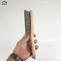 Bàn chải đánh giày XIMO làm từ lông ngựa linh hoạt giúp không bị bẩn tay (XBCDG18)