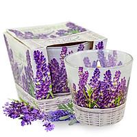Ly nến thơm tinh dầu Bartek Lavender Basket 115g QT024459 - hoa oải hương (giao mẫu ngẫu nhiên)