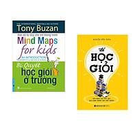 Combo 2 cuốn sách:  Tony Buzan - Bí Quyết Học Giỏi Ở Trường + Để Học Giỏi