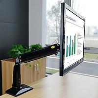 Giá đỡ màn hình máy tính Nhập khẩu NB F37 24-37 inch, tích hợp cổng USB