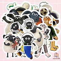 Miếng dán Stickers phim Shaun the Sheep Movie