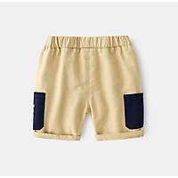 QN13Size90-130 (9-25kg)Quần short jean cho bé - kiểu dáng lửngThời trang trẻ Em hàng quảng châu