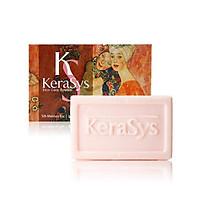 Xà bông tắm giúp da mịn màng và dưỡng ẩm hiệu quả dành cho da khô KERASYS Silk Moisture Bar 100g - Hàn Quốc Chính Hãng