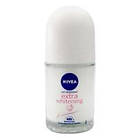 Lăn Khử Mùi Nữ Trắng Mịn Nivea Extra White 25ml - 82864