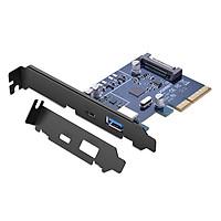 Card Mạng PCI Express Sang 2 Cổng USB 3.1 Type C Và USB 3.0 Ugreen 30774 - Hàng Chính Hãng