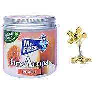 Sáp thơm phòng khử mùi Mr. Fresh 230g + Tặng 1 giá đỡ điện thoại hút chân không hình hoa mai (Màu ngẫu nhiên)