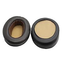 1 Pair Soft Headphones Ear Pads Cushions Replacement Parts for Sennheiser MOMENTUM Brown