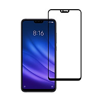 Miếng Dán Kính Cường Lực cho Xiaomi Mi 8 Lite - Full màn hình - Màu Đen - Hàng Chính Hãng