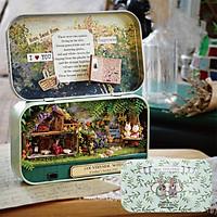 Mô hình nhà DIY Doll House Box Theatre Q004 -Q006 kèm Đèn LED