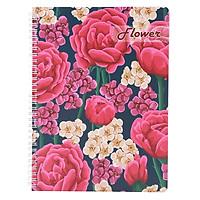 Sổ Lò Xo Hình Hoa Devyt - D1693 - 160 Trang