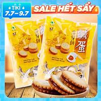 Combo 2 Túi Bánh Quy Trứng Muối Đài Loan 500g