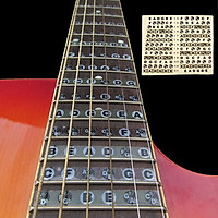 Miếng Dán Đánh Dấu Vị Trí Nốt Nhạc Trên Cần Đàn Guitar