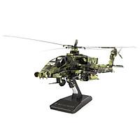 Mô hình thép 3D tự ráp máy bay Apache màu