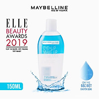 Tẩy Trang Mắt Môi Chuyên Dụng Maybelline New York Eye & Lip Makeup Remover 150ml