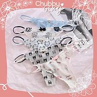 Quần Lọt Khe Ren Hai Dây Hông Free Size Màu Random Sexy Tôn Vòng Ba Cực Quyến Rũ - Đồ Lót Nữ Sexy - QLK10 - Chubby.Sexy