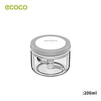 200ml Meat Grinder Hand-power Food Chopper Mincer Mixer Blender to Chop Meat Fruit Vegetable Nuts Shredders