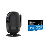 Camera IP Wifi VStarcam C48s 2.0 - Full HD 1080p , Lắp trong nhà , camera không dây , Kèm thẻ nhớ 64GB A1 Lexar  - Hàng chính hãng