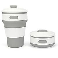 Ly nước gấp sáng tạo từ Silicone BPA Free an toàn