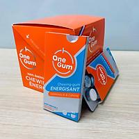 Kẹo Singum Tăng Lực Thương Hiệu Onegum Xuất Sứ Pháp Bổ Sung Vitamin B3 B6 B12 Không Đường Giúp Tỉnh Táo Và Tăng Sức Bền Dùng Trong Các Môn Thể Thao