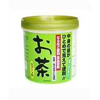 Hộp nhựa đựng trà có thìa nội địa Nhật Bản