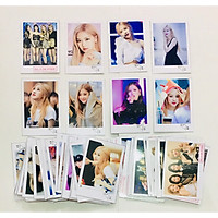 Ảnh card chữ ký Rosé -BLACKPINK combo 16 ảnh