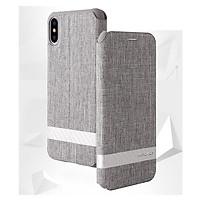 Bao da dành cho iPhone Xs Max hiệu G-Case Funky Canvas - Hàng Nhập Khẩu