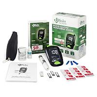Máy đo đường huyết Uright TD4279 + Tặng kèm 50 que thử và 10 kim chích máu