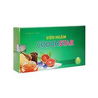 Viên ngậm ho thảo dược Coughstar - Giúp nhuận phế, bổ phế, tiêu đờm, giảm đau rát họng, khản tiếng do ho kéo dài, vị dễ ngậm, hơi thở thơm mát