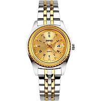 Đồng hồ nữ dây thép không gỉ Skmei 90TCK98