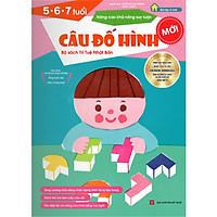 Sách thiếu nhi Nhật Bản - CÂU ĐỐ HÌNH cho bé 5-6-7 tuổi - Nâng cao khả năng suy luận