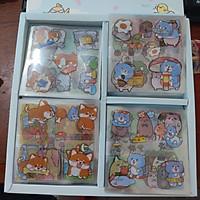 1 Họp 400 hình dán, sticker đủ mầu