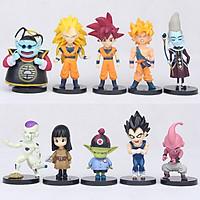 Bộ Mô Hình 10 Nhân Vật Dragon Ball DB01086