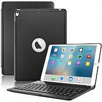 Bàn phím Bluetooth cao cấp F105 dành cho iPad Pro 10.5 inch/ Ipad air 3 2019 - Bàn phím led 7 màu