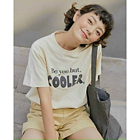 SET PULL CHỮ COOLER và SHORT NUDE M.O.N Boutique