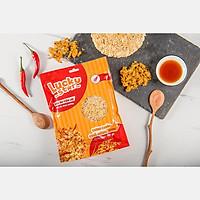 Cơm cháy chà bông vị cay Lucky Star 70g siêu ngon đảm bảo dinh dưỡng đồ ăn vặt ZonZon