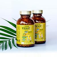 Thực phẩm chức năng Tảo Vàng Spirulina EX Nhật Bản 2000 Viên (1 hộp gồm 2 lọ 1000 viên)