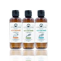 Combo 3 Gel rửa tay khô tinh dầu Sả Chanh, Cam và Bạc Hà PK 100ML – kết hợp tinh dầu tràm trà, diệt khuẩn 99,9%