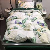 Bộ chăn ga 4 món cotton Poly cao cấp đủ size nhiều mẫu (không kèm ruột) PLA10