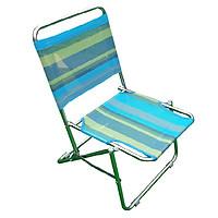 Ghế xếp inox loại trung Thanh Long GXI-L01 44 x 42 x 66 cm Giao màu ngẫu nhiên