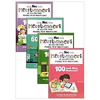 Combo Học Montessori Để Dạy Trẻ Theo Phương Pháp Montessori (Bộ 4 Cuốn)