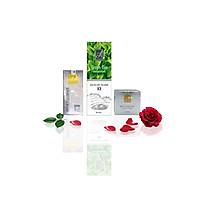 Bộ sản phẩm làm sạch sâu, ngăn ngừa mụn Acosmetics (Sữa rửa mặt Trà Xanh X2, Serum Spot Esence và Kem Face Pháp)